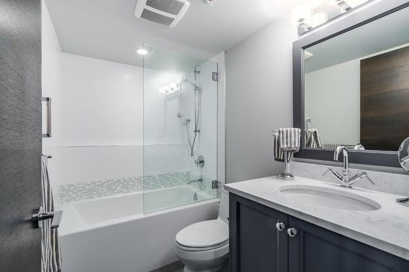 North Vancouver Bathroom Reno Condo Jedan Brothers