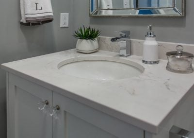 Port Coquitlam Powder Bathroom - Jedan Brothers Contracting