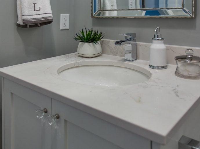 Port Coquitlam Powder Bathroom