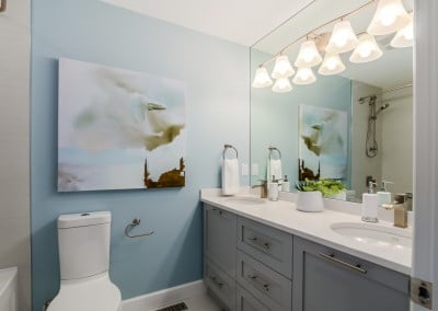 Central Coquitlam Main Bathroom Reno
