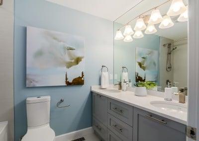 Central Coquitlam Main Bathroom Reno