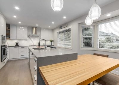 An Enlightened Kitchen - Jedan Brothers Contracting