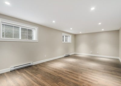Central Coquitlam Basement Renovation