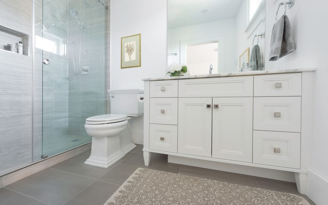 Wood Bathroom Renovation