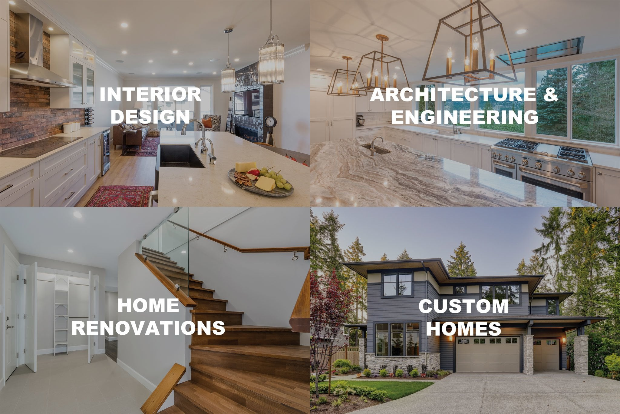 Interior Design | Architecture & Engineering | Home Renovations | Custom Homes