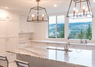A Drab Kitchen Gets a Bright Makeover to Open up the Views - Jedan Brothers Contracting